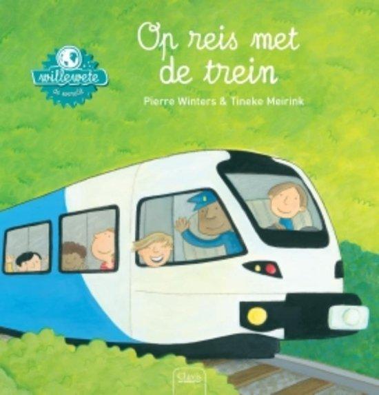 Op reis met de trein - Boeken over voertuigen - Juf Bianca