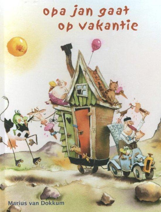 Opa Jan gaat op vakantie - boeken over reizen - Juf Bianca