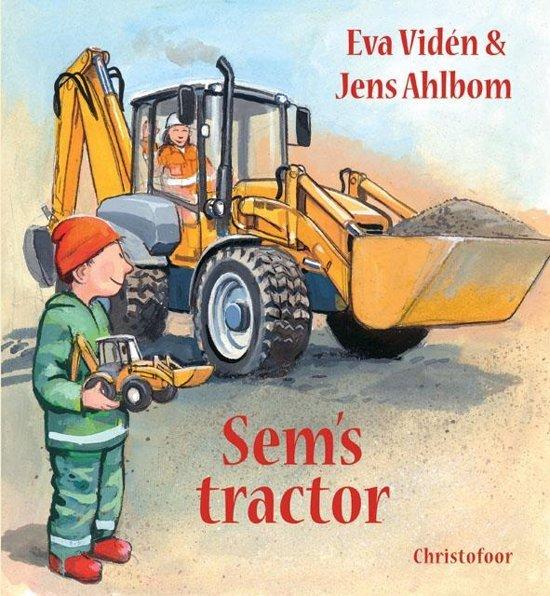 Sems tractor - Boeken over voertuigen - Juf Bianca