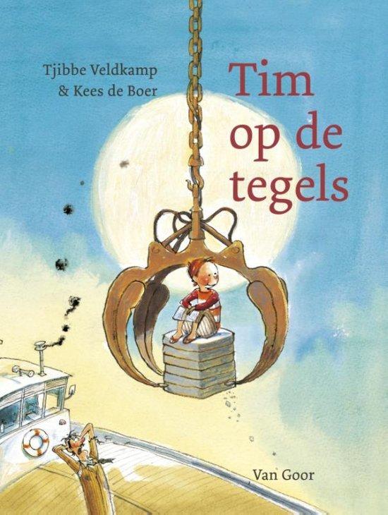 Tim op de tegels - Boeken over voertuigen - Juf Bianca