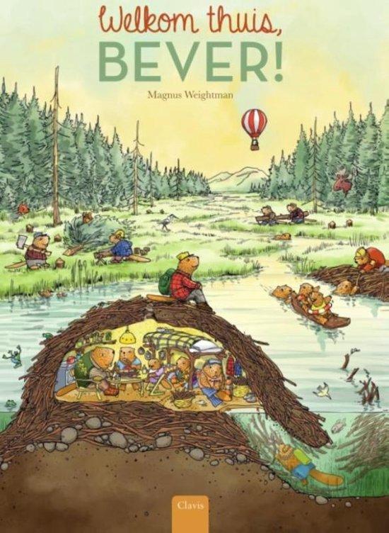 Welkom thuis Bever - boeken over reizen - Juf Bianca