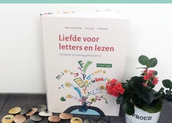 review - Liefde voor letters en lezen - handboek beginnende geletterdheid - Juf Bianca