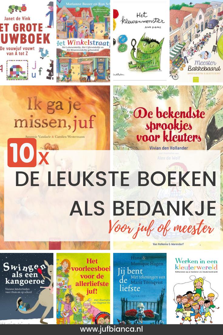 Verbazingwekkend De 10 leukste boeken als bedankje voor juf of meester | JufBianca.nl JK-15