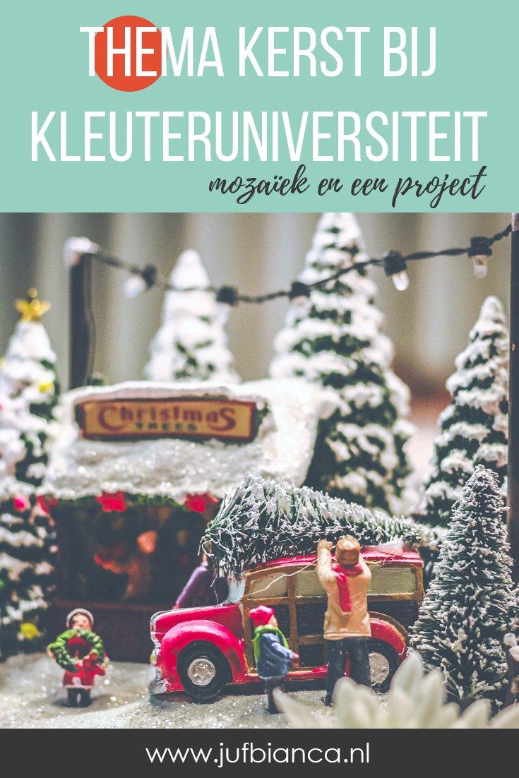 Thema kerst bij Kleuteruniversiteit - Juf Bianca